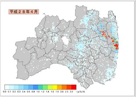 福島の放射線情報